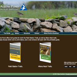 Trail Guide | Allens Pond 2