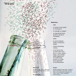 Wassail Word Poster