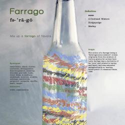 Farrago Word Poster Design